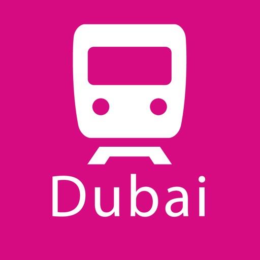 Dubai Rail Map