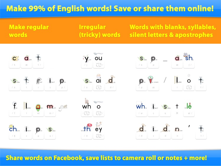 Word Builder - The Phonics Teaching Tool screenshot-4