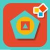 モンテッソーリ式幾何学 - タムとタオと一緒に図形の学習 - iPadアプリ