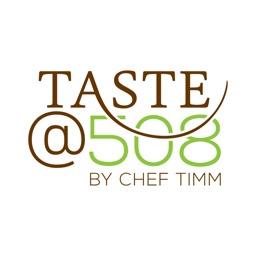 Taste@508