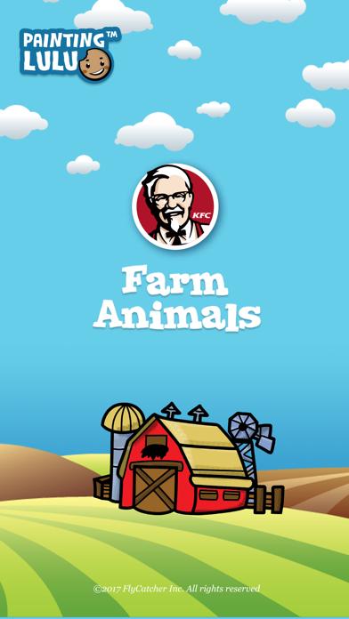Painting Lulu Farm Life KFC screenshot one