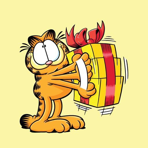 Garfield's Animated Birthday Card Stickers
