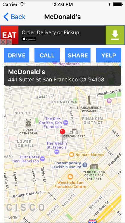 Fast Food Finder! Find FastFood Restaurants