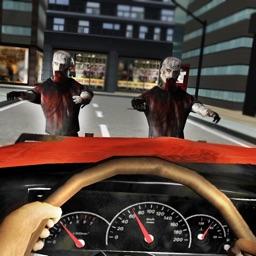 Zombie Road Squad: Car War 3D
