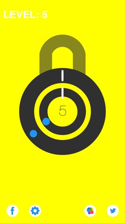 Pop Two Locks- Test Reflex By Simple Single Tap