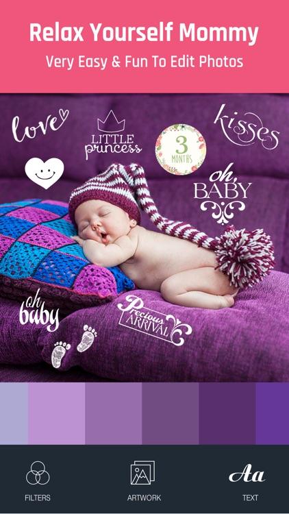Baby Photo - Edit Pregnancy & Baby Milestones Pics