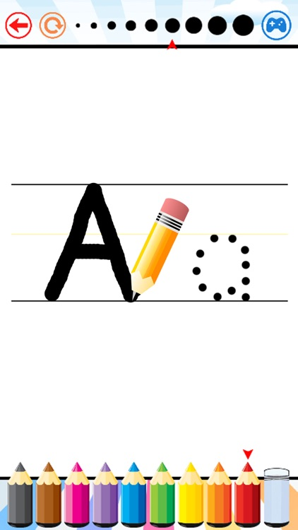 Write Letters ABC and Numbers for Preschoolers screenshot-0