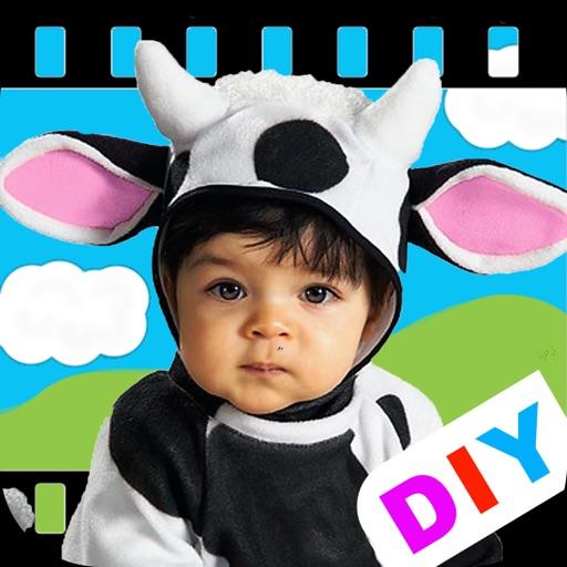 DIY Baby Flash Cards - Farm Animals