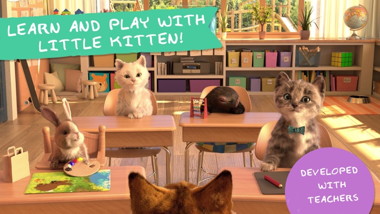 Little Kitten & Friends 4+ screenshot-0