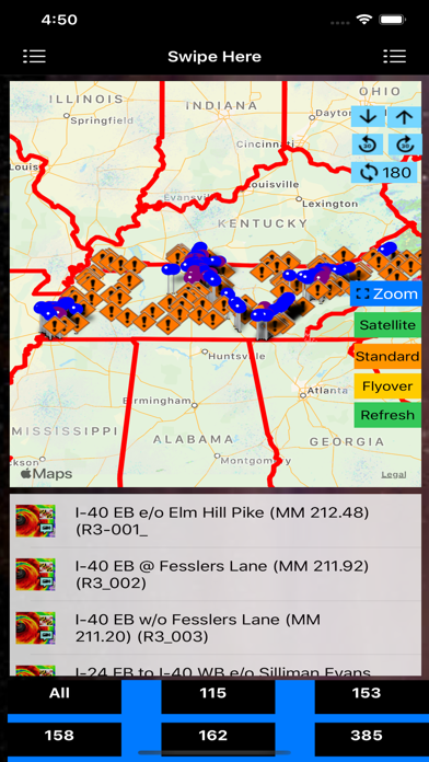 Traffic Cameras Tennessee Pro screenshot 1