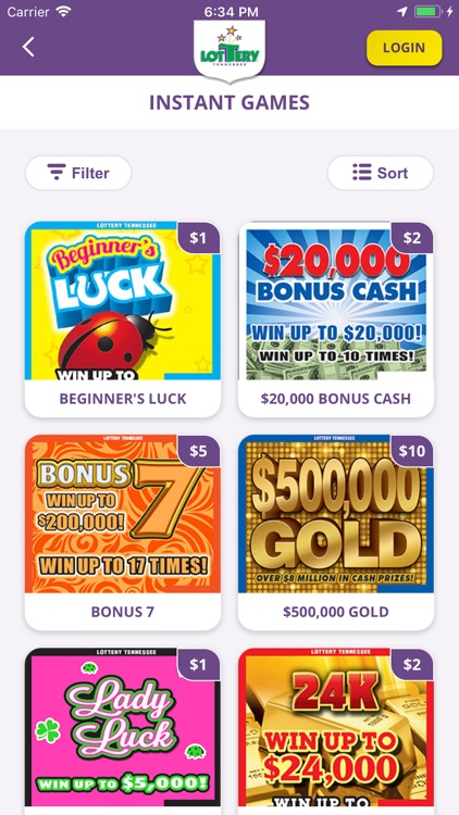 Tennessee Lottery Official App screenshot-4