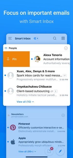 ‎Spark – Email App by Readdle Screenshot