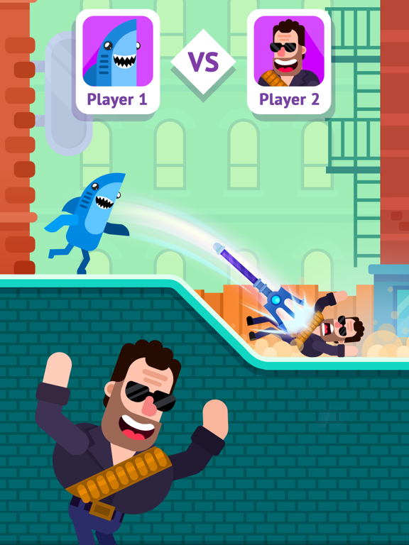 Bowmasters - マルチプレイヤーゲームのおすすめ画像7