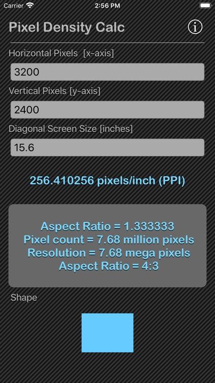 Pixel Density Calc screenshot-9