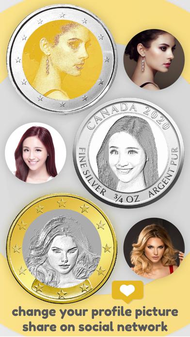 Face Coin – Profile Pic Maker 3