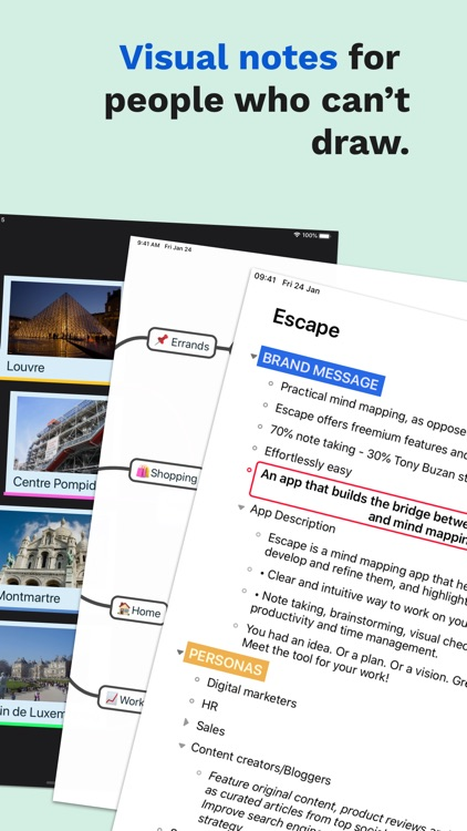 Escape - Mind mapping