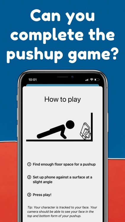 Pushup AR - Fitness Game