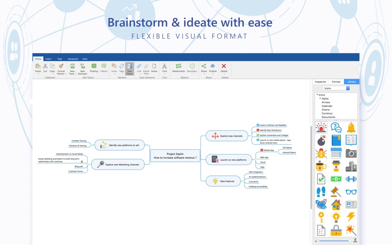 MindManager Screenshot