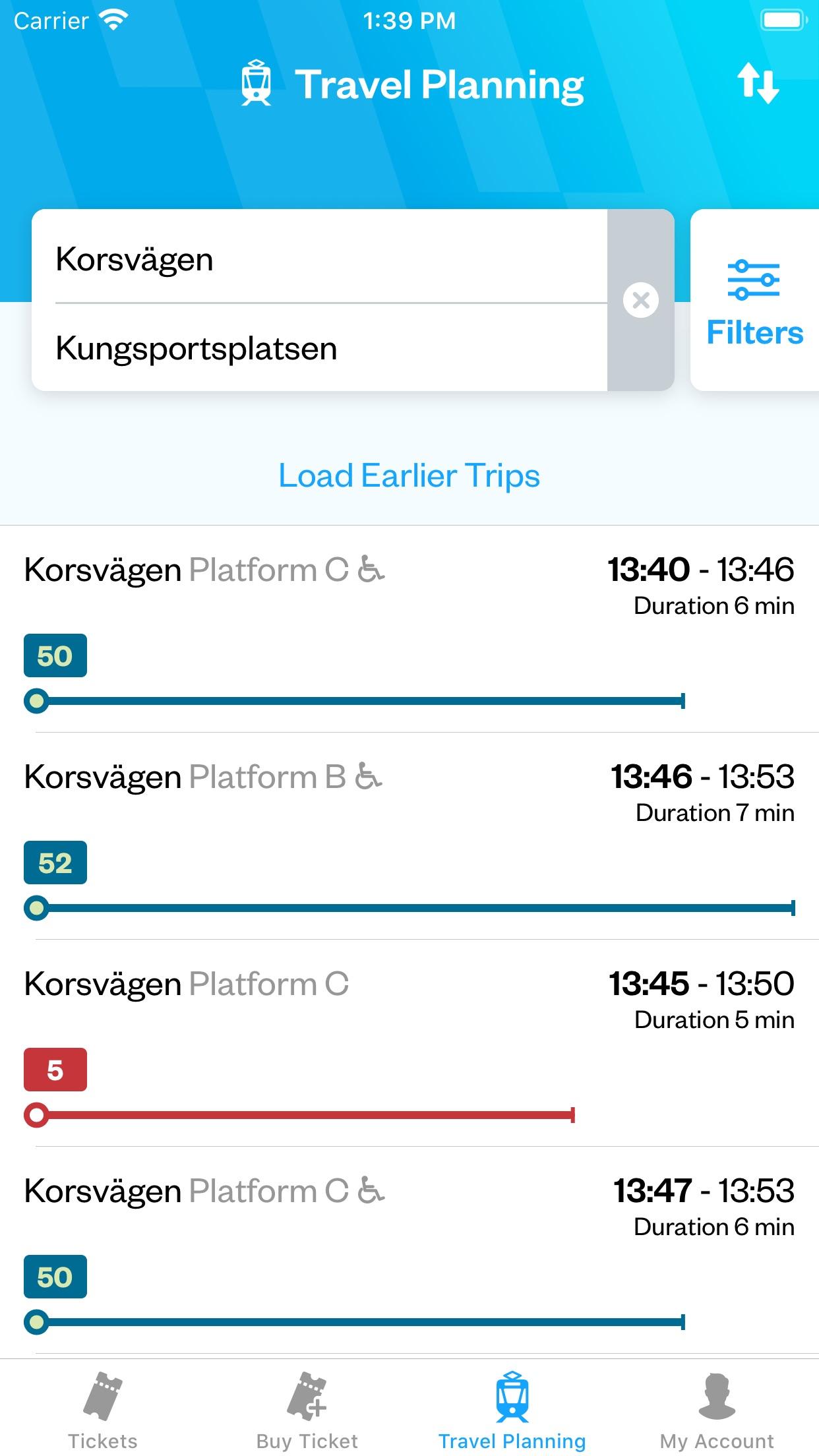 Västtrafik To Go Screenshot