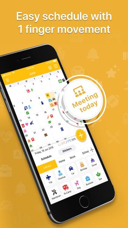 Calendar Sticker & Emoji -Tica