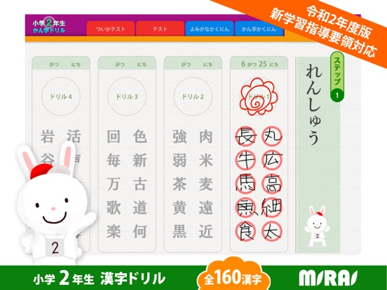 Kanji Workbook for 2nd grade