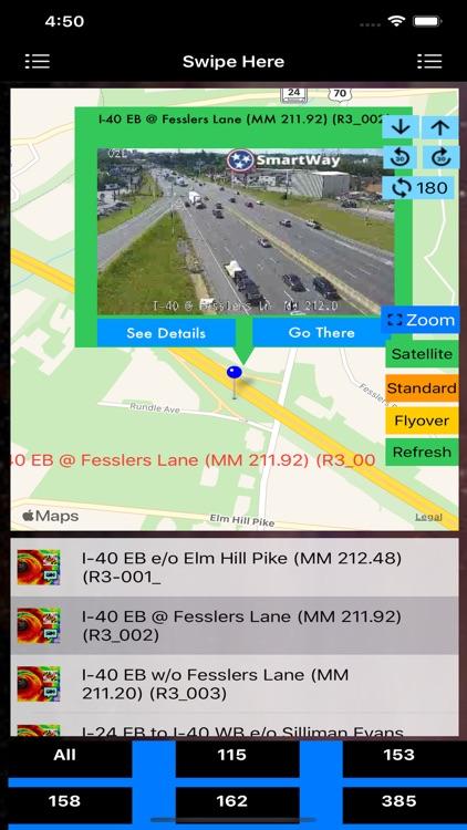 Traffic Cameras Tennessee Pro screenshot-3