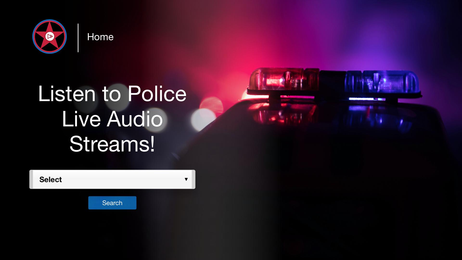 Radio Scanner police screenshot 1