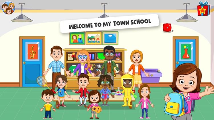 My Town : School screenshot-0