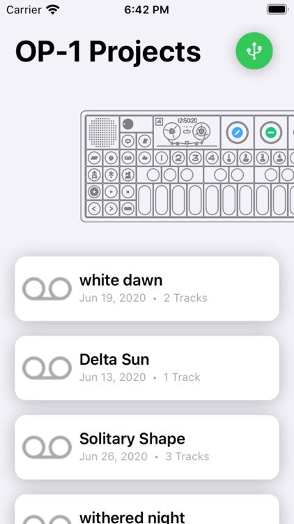 Manager for OP1