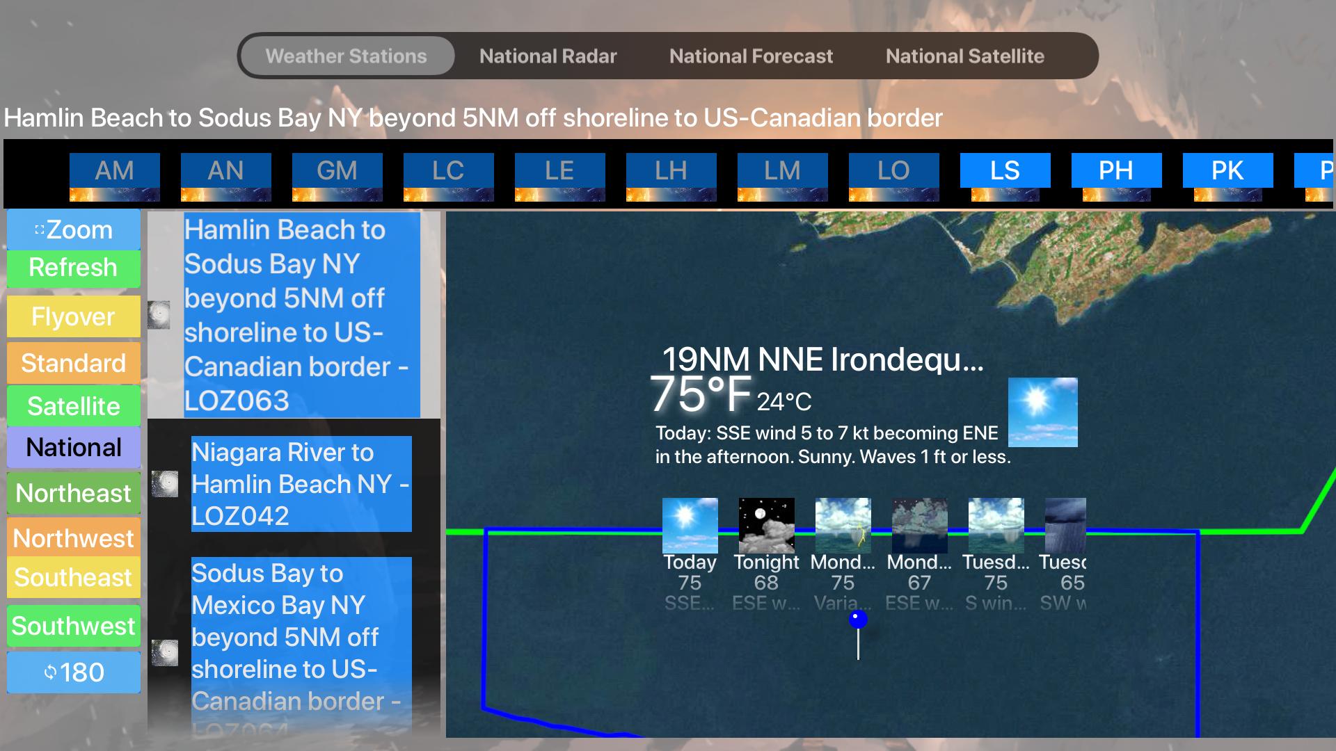 Instant Marine Forecast Lite screenshot 22