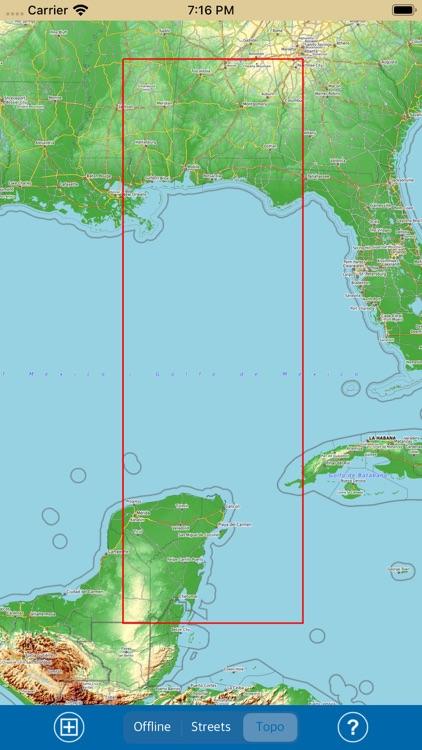 Mississippi-Alabama Marine Map screenshot-6