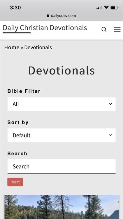 Daily Christian Devotionals screenshot-8