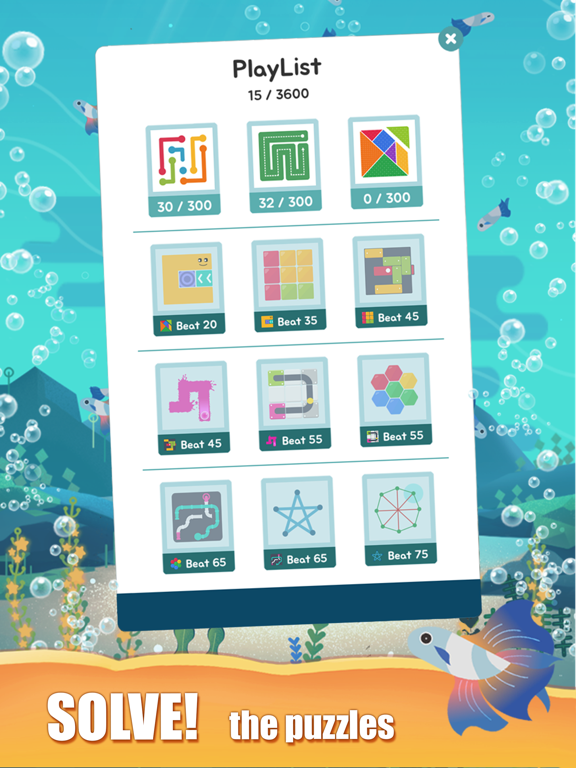 Puzzle Aquariumのおすすめ画像5