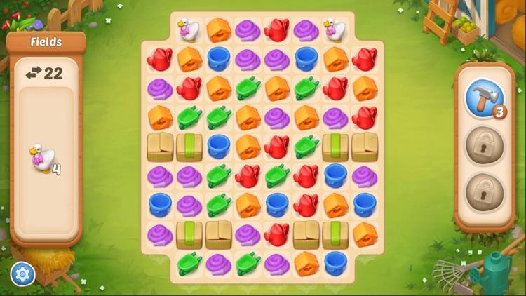 Maggie's Farm - Match 3 game screenshot-5