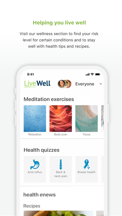 messages.download LiveWell with Advocate Aurora software
