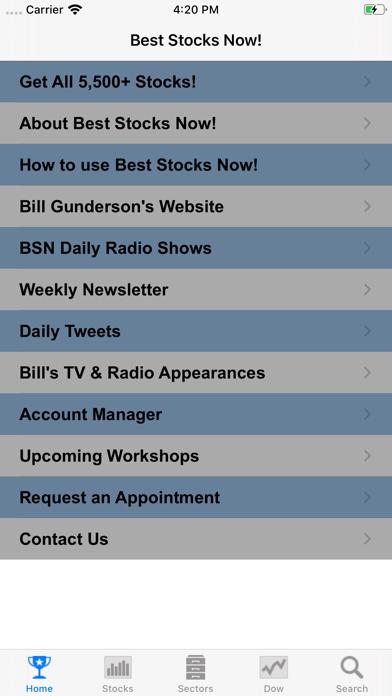 Best Stocks Now Screenshot