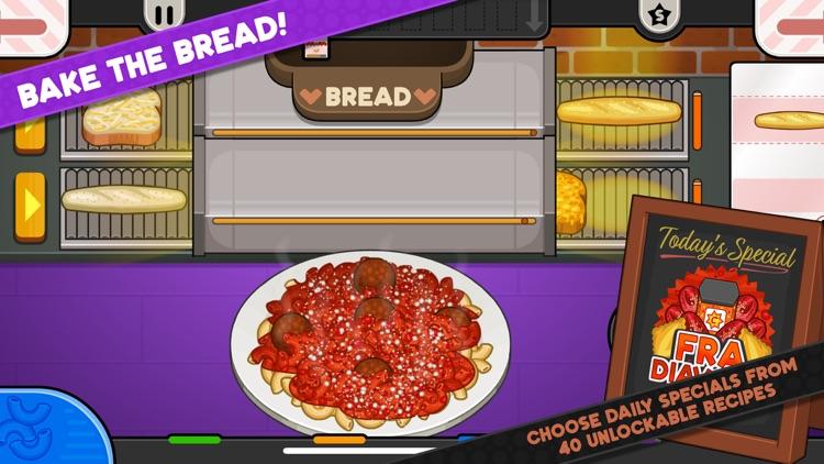 Papa's Pastaria To Go! screenshot-4