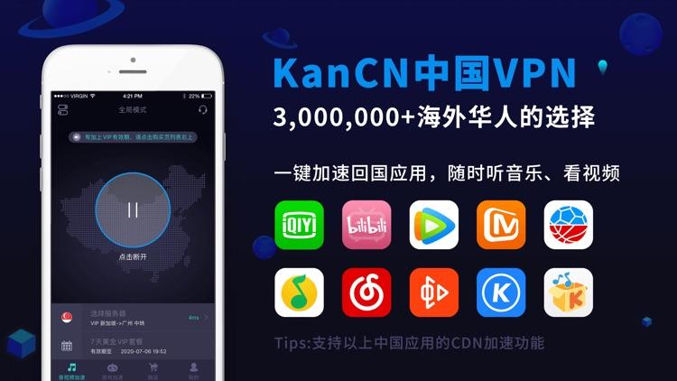 KanCN - 海外党回国VPN Proxy