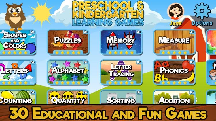 Preschool & Kindergarten Games screenshot-0