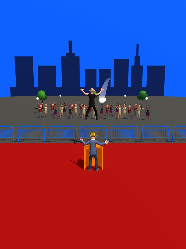 Best Bodyguard, game for IOS