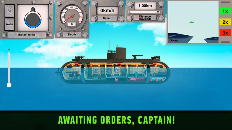 Nuclear Submarine inc Arcade screenshot-3