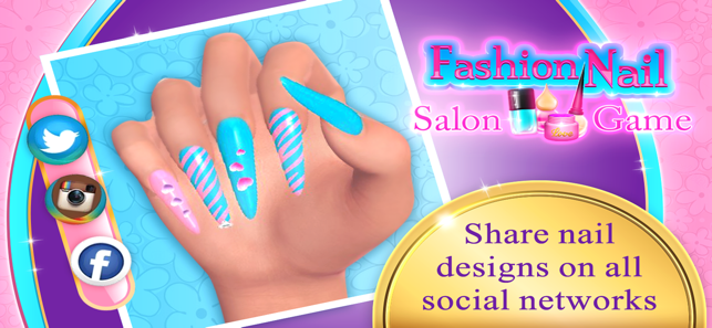 Fashion Nail Art Salon Game On The App Store
