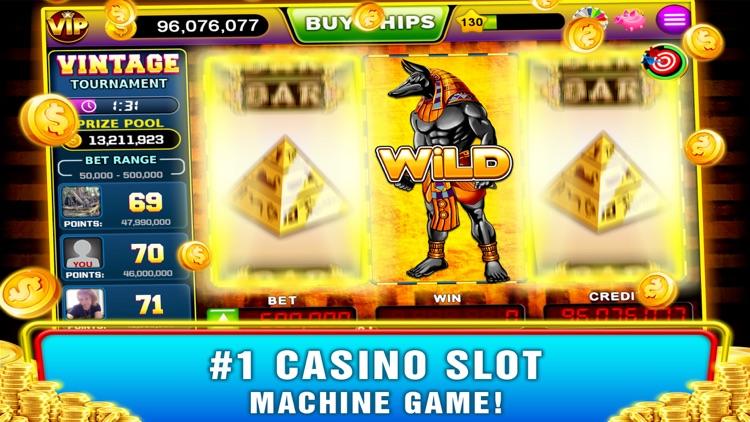 Vintage Slots - Old Las Vegas! screenshot-8