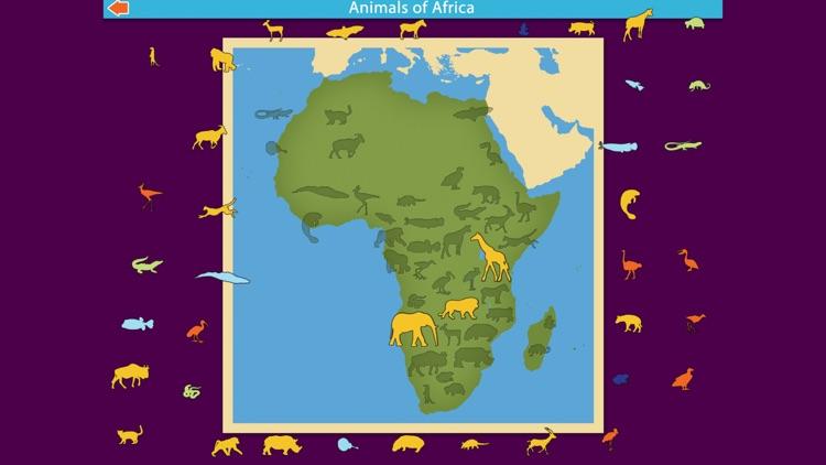Montessori Animals of Africa screenshot-5
