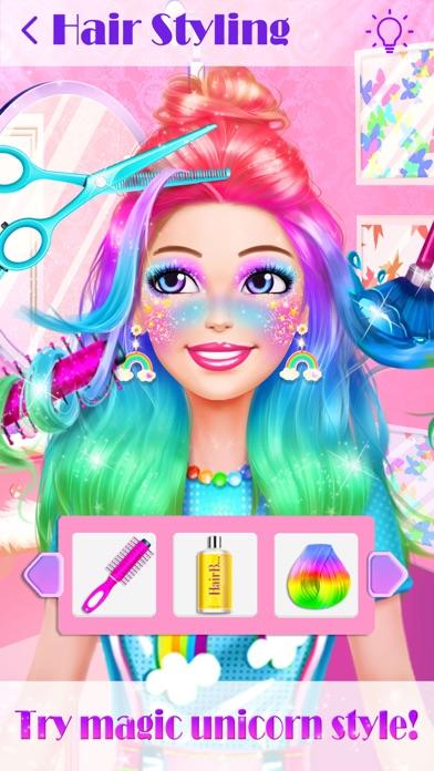 Unicorn Makeup Dress Up Artist screenshot 3