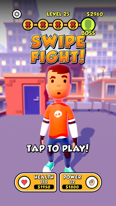 Swipe Fight! screenshot 1