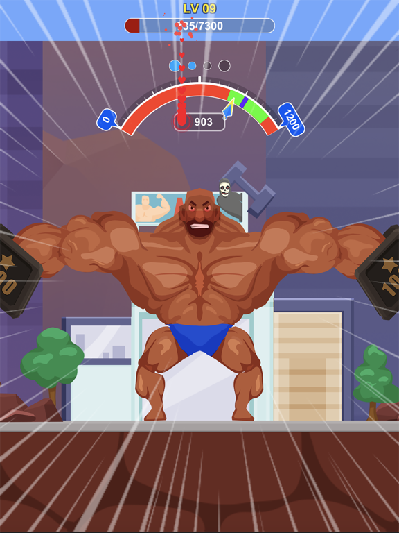 iPad Image of Tough Man