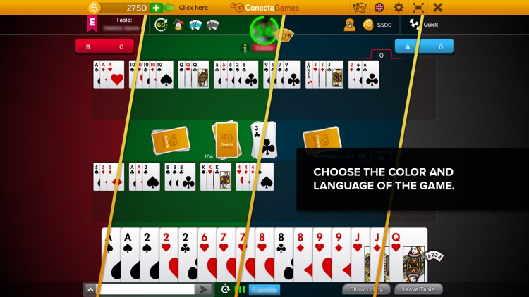 Canasta Hand And Foot screenshot-3