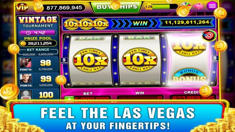 Vintage Slots - Old Las Vegas! screenshot-9