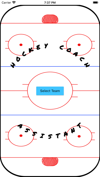 Hockey Coach Assistant screenshot 1